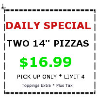 Enzo's Daily Special Pizza Coupon
